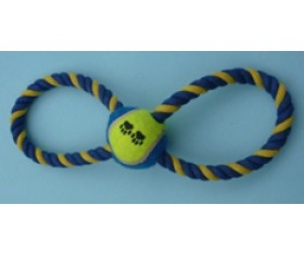Rope Pull Toy - Fig 8 & Ball