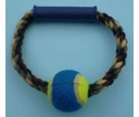 Rope Ball Pull Toy