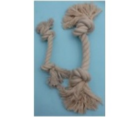 Rope Pull Toy - White