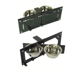 Swivel Feeder - Twin Bowl